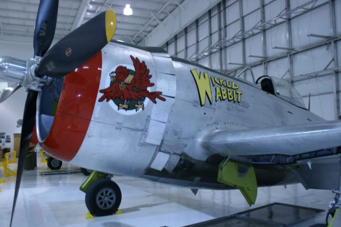 Both Are Painted In The Markings Of 57th Fighter Group 65th Squadron Fighting Cocks FG Flew 12th Air Force On